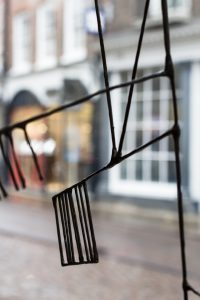 An invitation from TOAST to visit their Cambridge shop to take a closer look at and photograph Alice-Andrea Ewing's bronze river map. Works of the Heart; a celebration of the launch of their artists' windows and the new Spring collection.